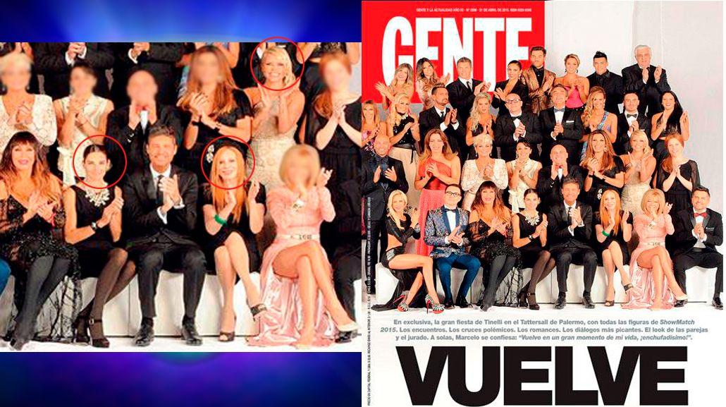 Moria Casán, filosa contra Nacha Guevara, Juana Viale y Nazarena Vélez por la foto del Bailando: Me la ... en conjunto