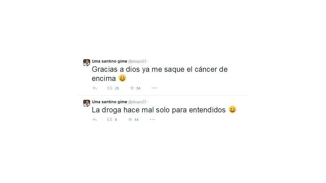 Los polémicos tuits del Ogro Fabbiani mientras Victoria Vannucci estaba en TV: Me saqué el cáncer de encima