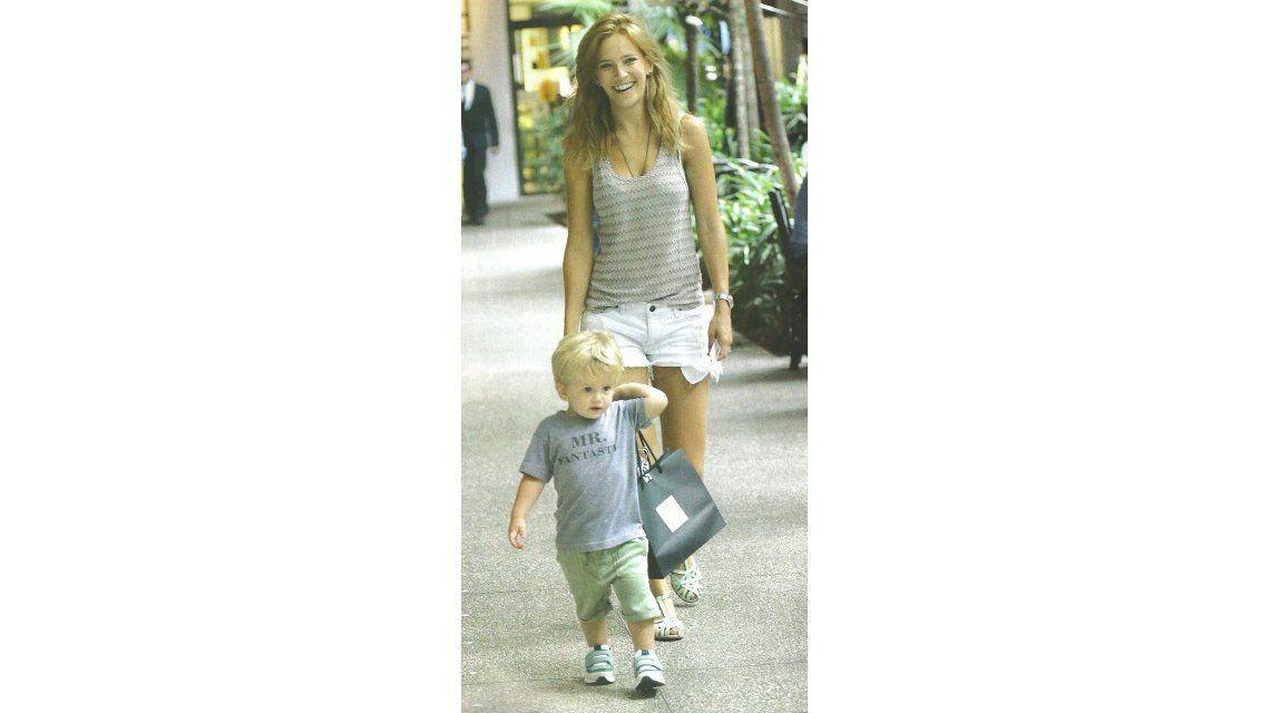 El álbum de las vacaciones de Luisana Lopilato, Michael Bublé y su hijo Noah en Miami
