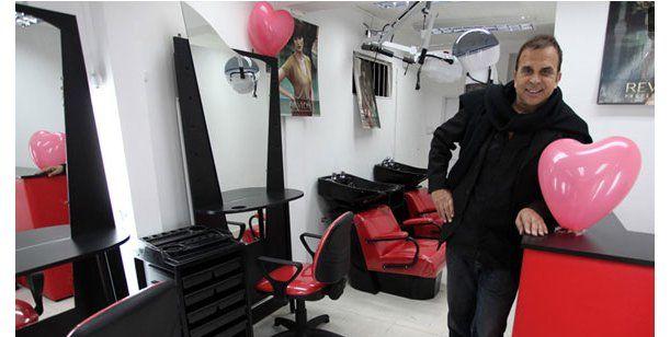 En un intento de robo, tirotearon la peluquería de Rubén Orlando, el estilista de las famosas