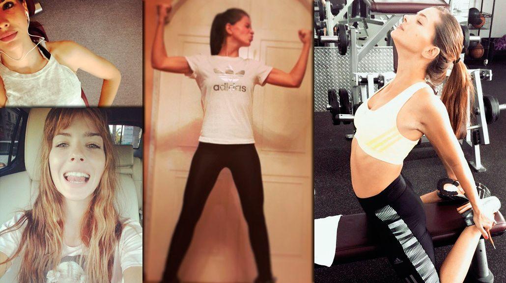 China Suárez volvió a entrenar: las fotos sexies en el gimnasio