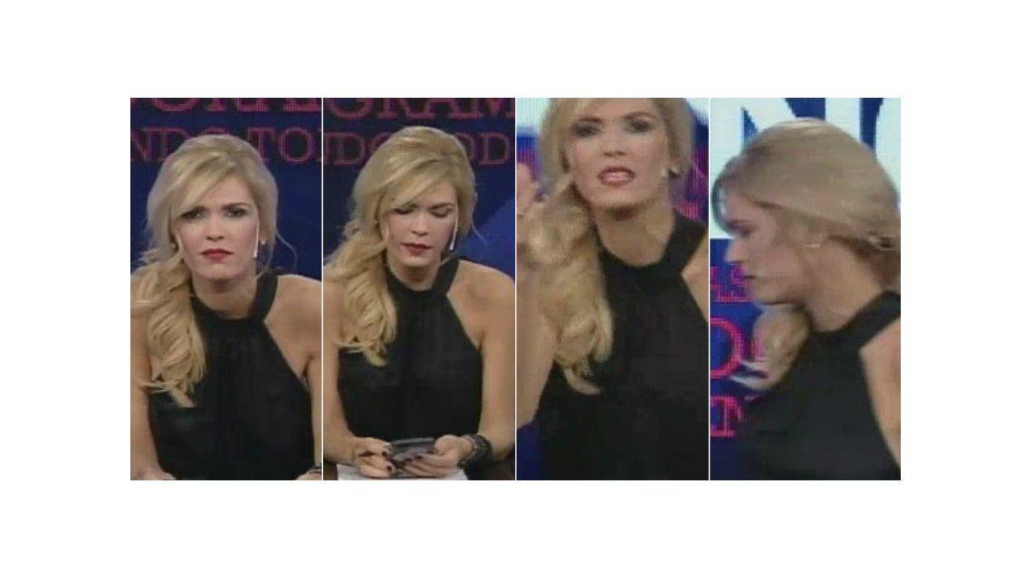 El susto de Viviana Canosa: así reaccionó cuando le dijeron que era el último programa de Zapping mientras estaba en vivo