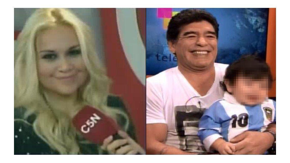 Verónica Ojeda anunció que bautizará a su hijo: Diego se lo va a perder, igual que todos los momentos lindos del nene