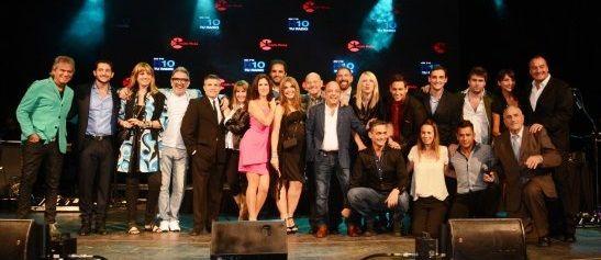 La noche de las radios: los famosos en la mega fiesta
