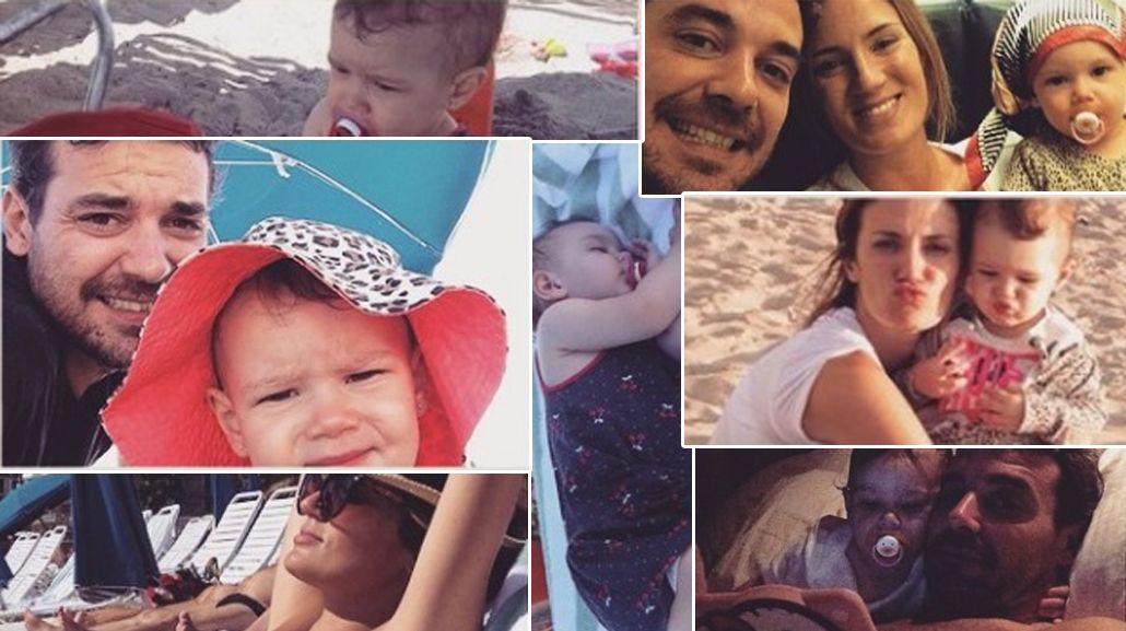 El álbum de las vacaciones de Paula Chaves y Pedro Alfonso con Olivia en Miami