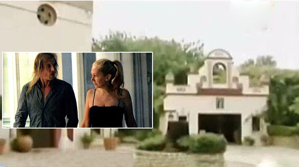 En medio de una crisis, desvalijaron la casa de Claudio Caniggia y Mariana Nannis en Marbella