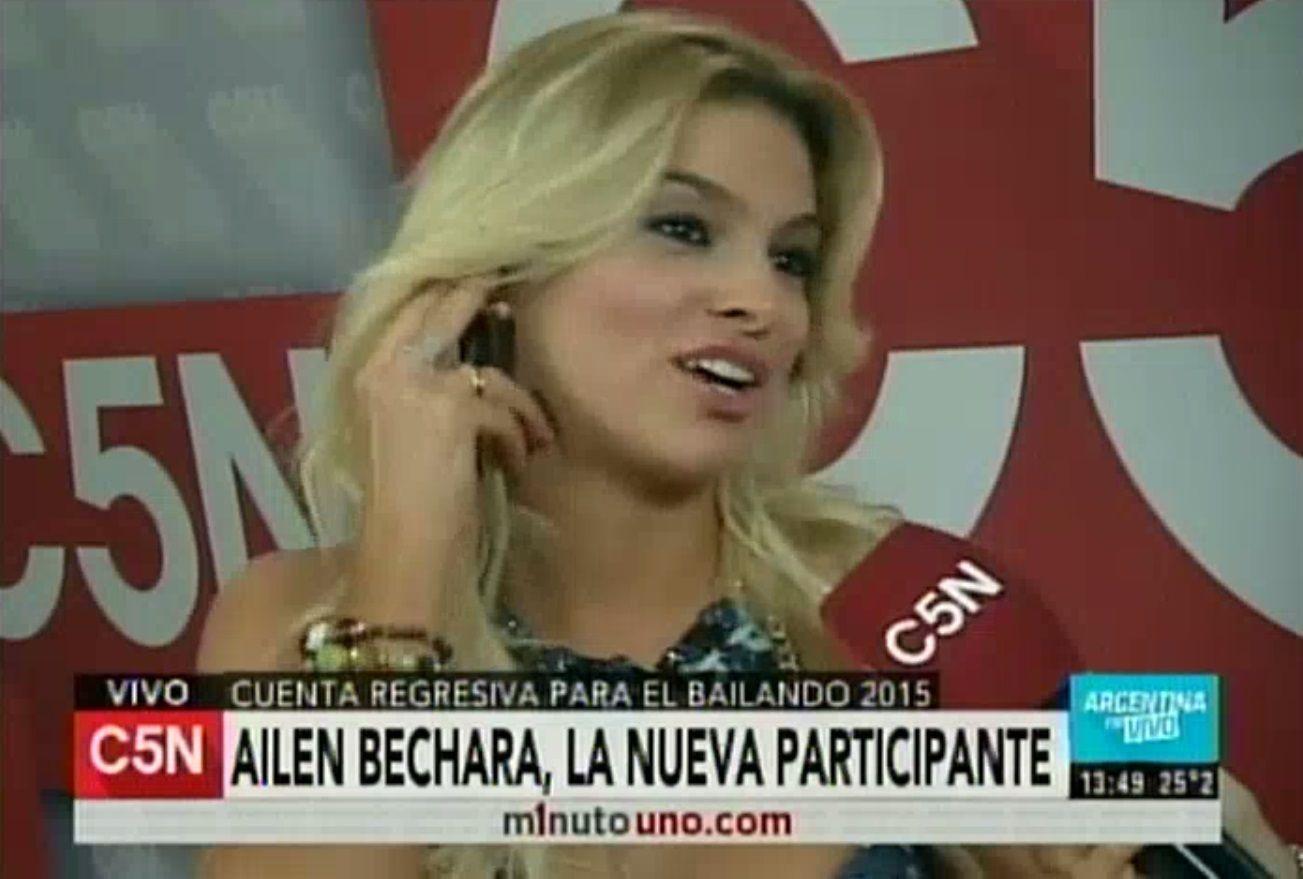 Ailén Bechara, confirmada en Showmatch: Soy de madera para bailar