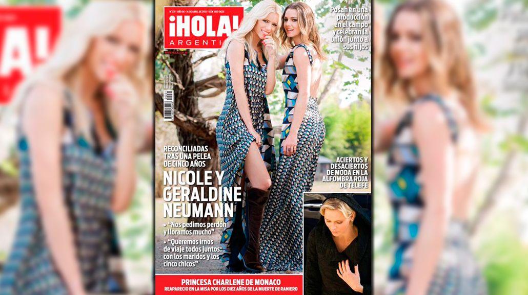 Por primera vez, Nicole y Geraldine Neumann cuentan cómo se reconciliaron: Nos pedimos perdón y lloramos mucho