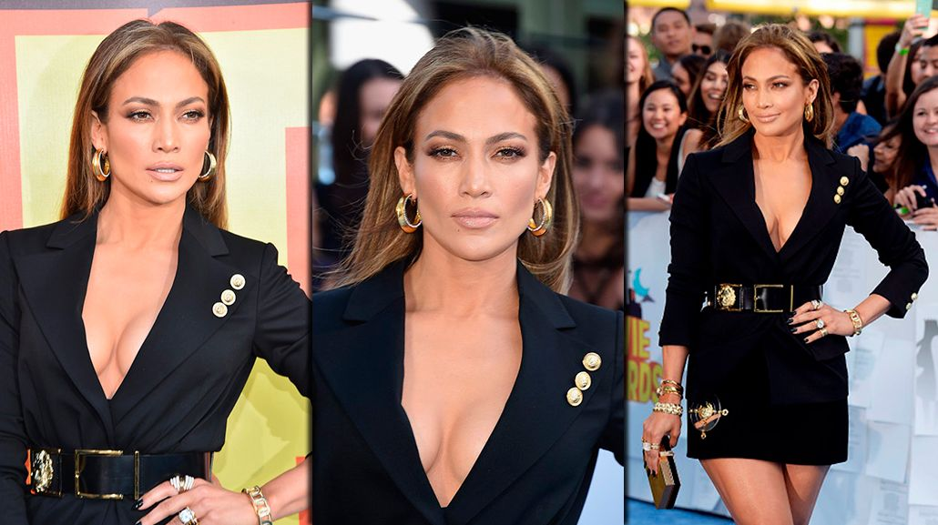 El escote hot de Jennifer Lopez en los MTV
