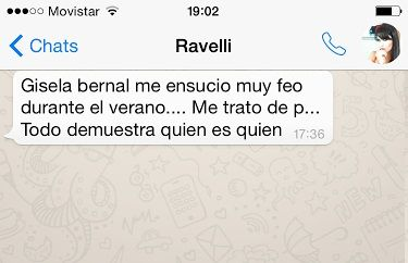 Gisela Bernal dice que tiene miedo de que Ariel Diwan le haga algo y Sabrina Ravelli salta: Me dijo p...