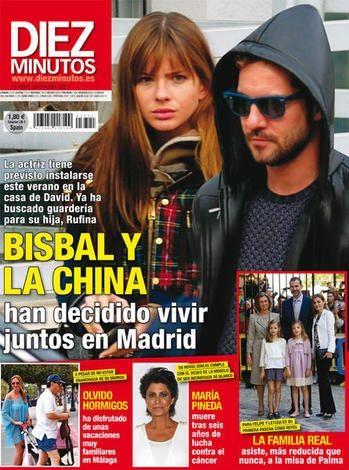 En España aseguran que la China Suárez se va a vivir a Madrid con David Bisbal: Ya buscó guardería para Rufina