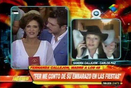 Si ella no podía, le ofrecí mi vientre para que fuera madre, dijo la hermana de María Fernanda Callejón