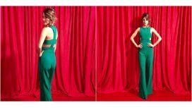 El look súper sexy de Agustina Casanova en los 25 años de Telefe