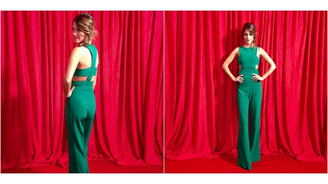 El look súper sexy de Agustina Casanova en la fiesta de los 25 años de Telefe