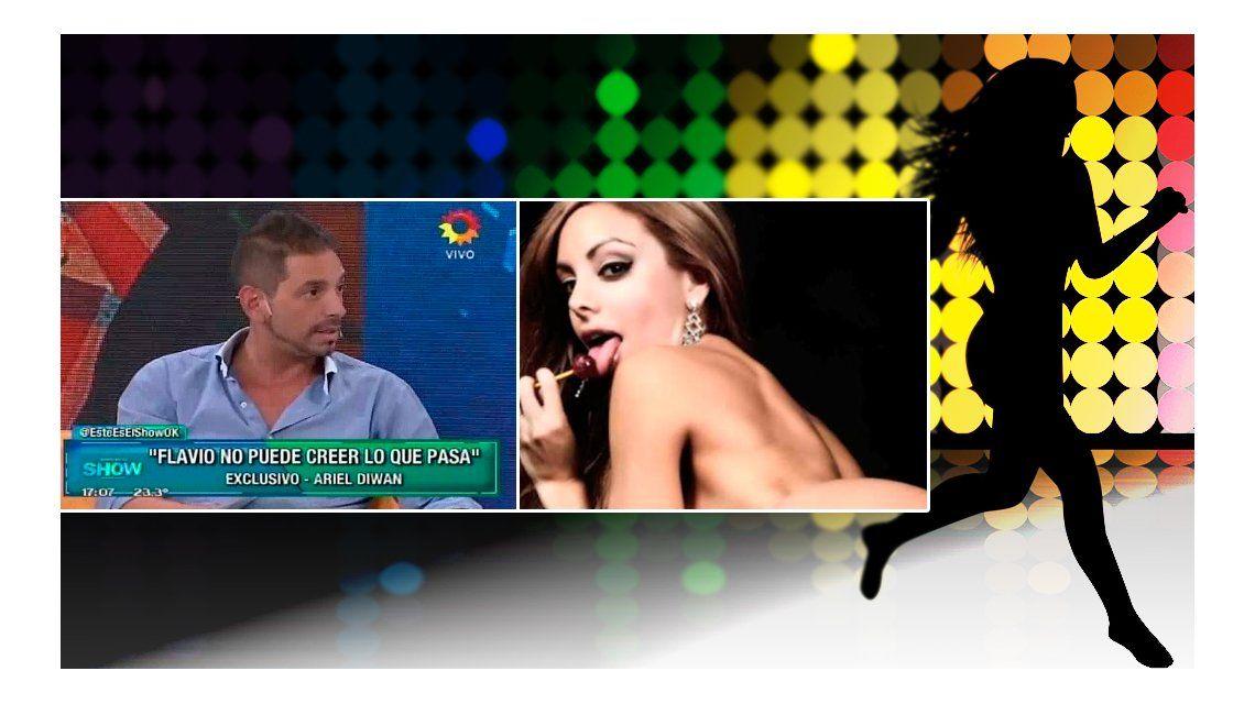 Ariel Diwan amenaza: Hay un video hot de Gisela enfiestada con una famosa bailarina