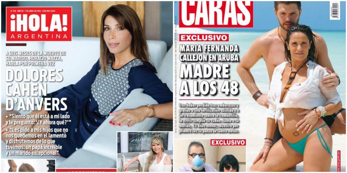 Dolores Cahen Danvers rompe el silencio tras la muerte de su marido y Callejón muestra su embarazo