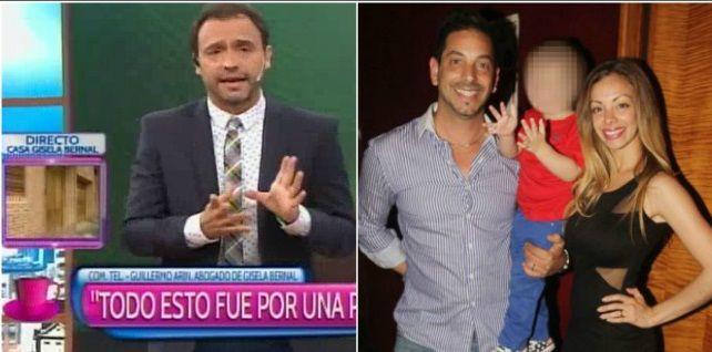 El abogado de Gisela Bernal confirmó: Ian es el hijo de Ariel Diwan