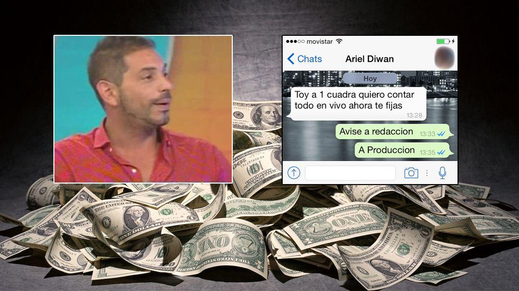 Ariel Diwan pidió 100 mil dólares para ir a la televisión: su negociación con Intrusos