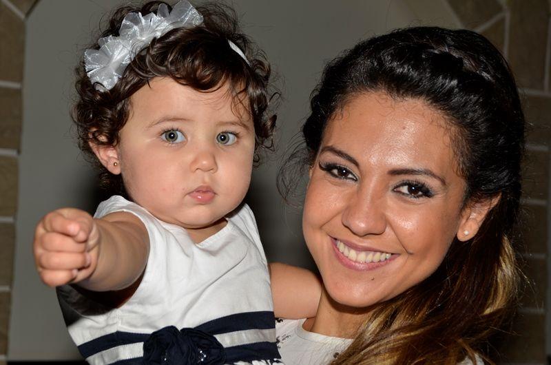 Tamara Alves y Patricio Toranzo festejaron el primer cumpleaños de su hija Giuliana