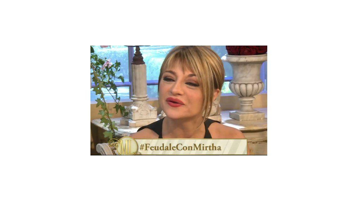 ¿A qué famosa no se quería parecer Marcela Feudale al operarse la nariz?