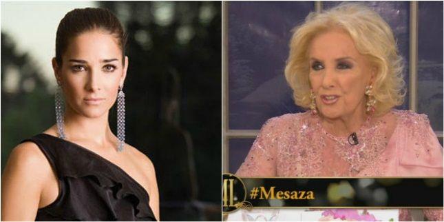 Mirtha le tiene miedo a Juanita Viale y su mal carácter: Mi mayor temor es que se enoje y haga un desplante