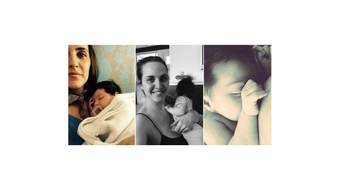 El bello texto de Julieta Díaz sobre su hija: Con miedo y enamorada; pero llena de fe