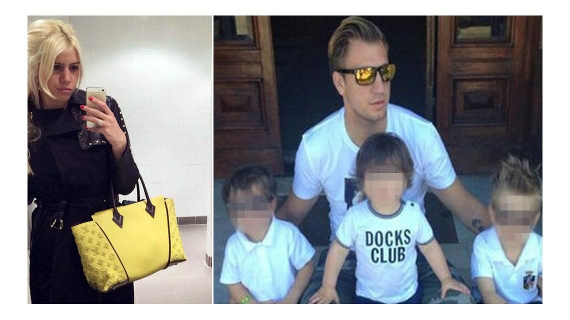 Wanda Nara vs Maxi López: Va a tener que firmar un recibo cada vez que retire a nuestros hijos