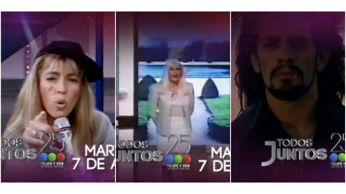 El spot oficial de los 25 años de Telefe: ¿quiénes están y quiénes no?