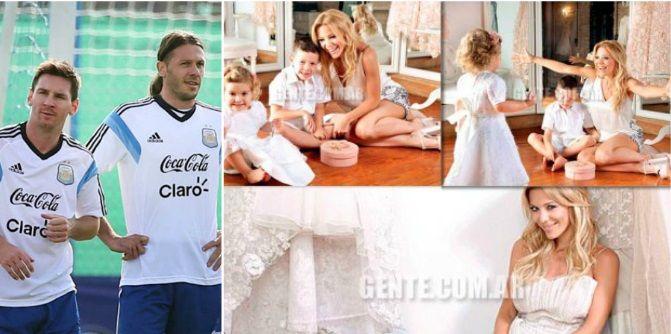 La frase clave de Lionel Messi para que Martín Demichelis se case con Evangelina Anderson: Dale, Micho...