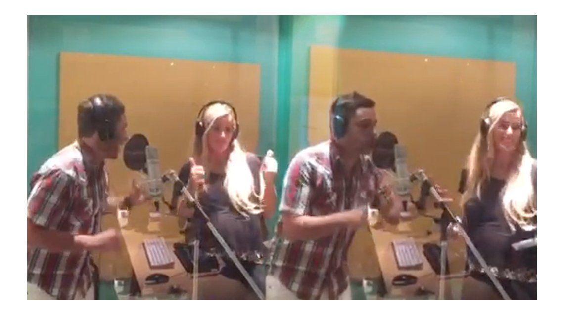 A pocos días de ser mamá de Sofía, Panam grabó la nueva canción de Infama, El botonazo