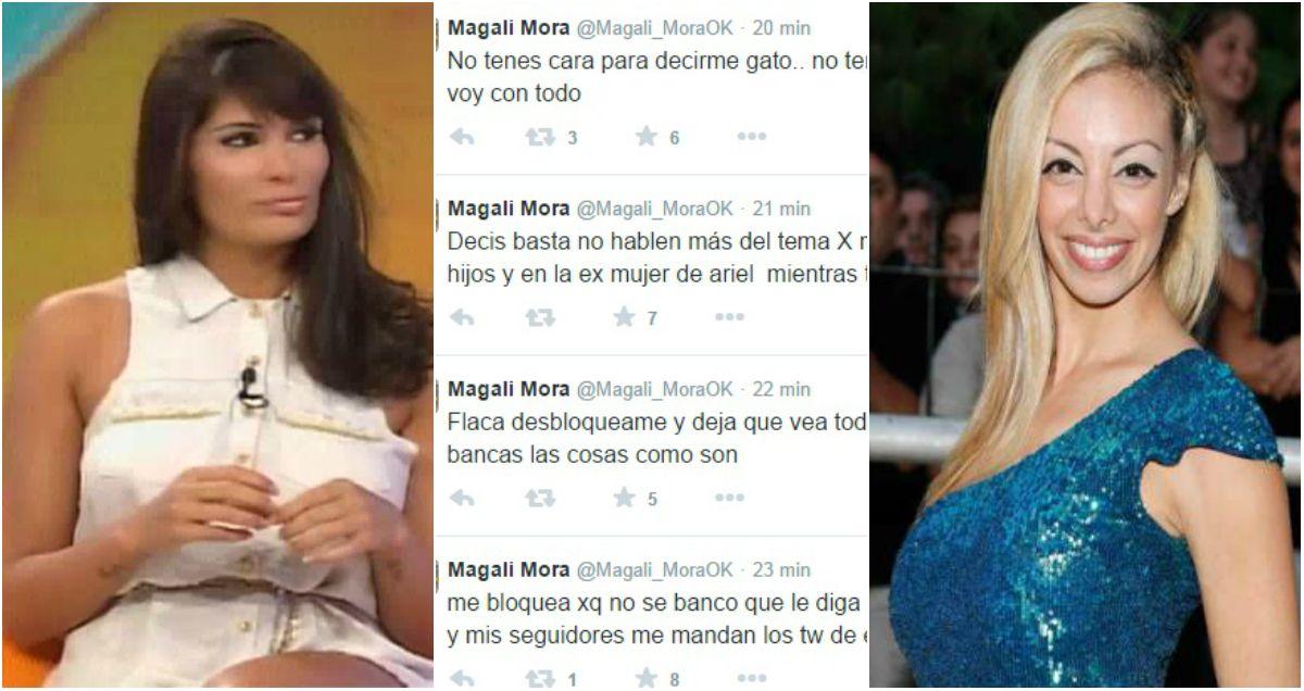 Magalí Mora vs Gisela Bernal: No pensaste en la ex mujer de Ariel cuando te lo garch... casado