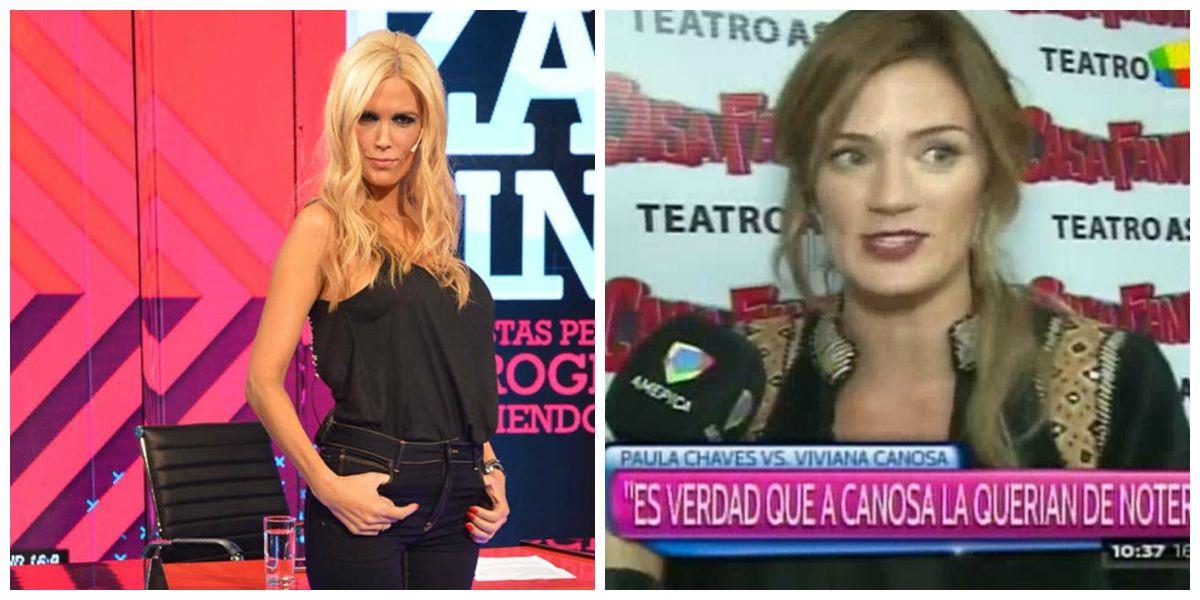 El nuevo palito de Paula Chaves a Viviana Canosa: A ella la querían de notera
