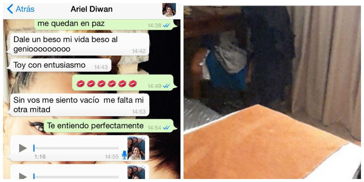 Los chats de Diwan tratando de reconquistar a Bernal y la ropa en la silla de Magalí Mora