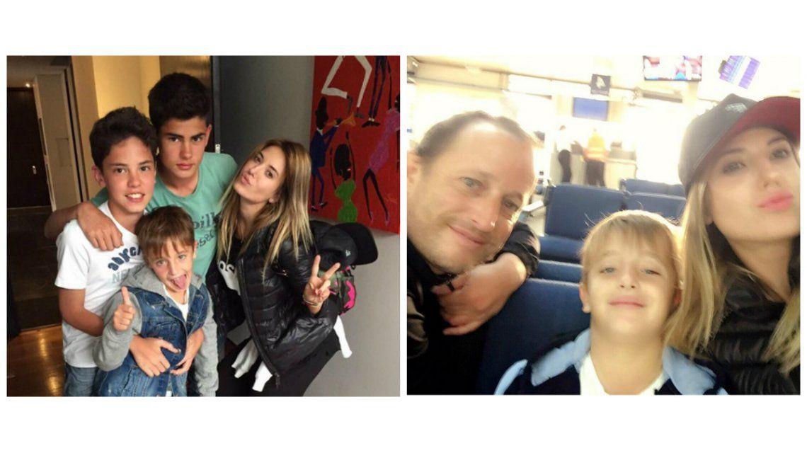 Jésica Cirio practica cómo ser madre: tarde con uno de los hijos de Martín Insaurralde