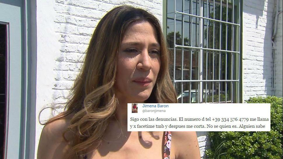 La mala racha de Jimena Barón tras volver a la Argentina: robo, twitter trucho y ahora ¿acoso telefónico?