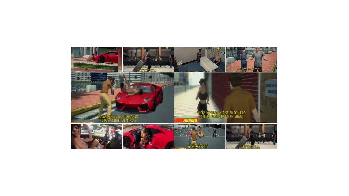El video de la televisión norteamericana en el que se burlan de Vicky Xipolitakis