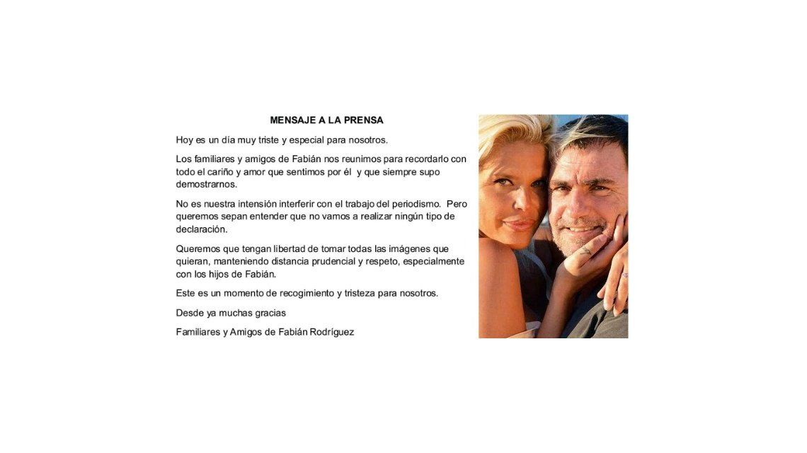 Se cumple un año de la muerte de Fabián Rodríguez: Nazarena en Miami y el mensaje familiar