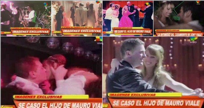 La intimidad de la súper fiesta de casamiento de Jonatan Viale: fotos y videos