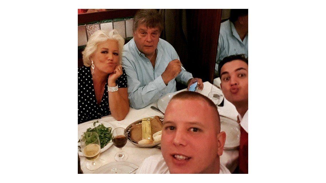 Estelita y la foto del reencuentro con Luis Ventura: Con Luis estamos de novios