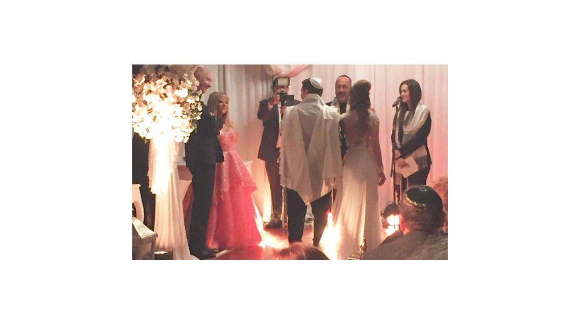El álbum de la fiesta de casamiento de Jonathan Viale