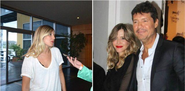 Mica Tinelli, en San Luis, habló por primera vez de la separación de su papá y Guillermina Valdes