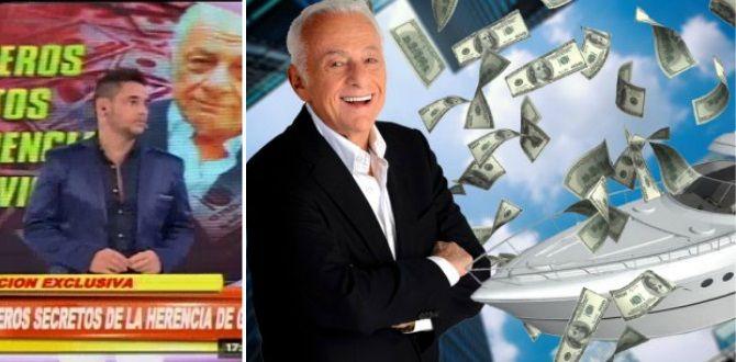 Los números secretos de la herencia de Gerardo Sofovich: diez millones de dólares en juego