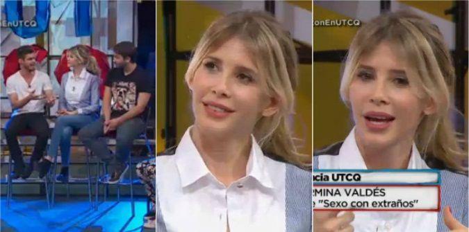 Guillermina Valdes y Gastón Soffritti, juntos en televisión: Mis hijos entienden mi deseo de actuar y me acompañan