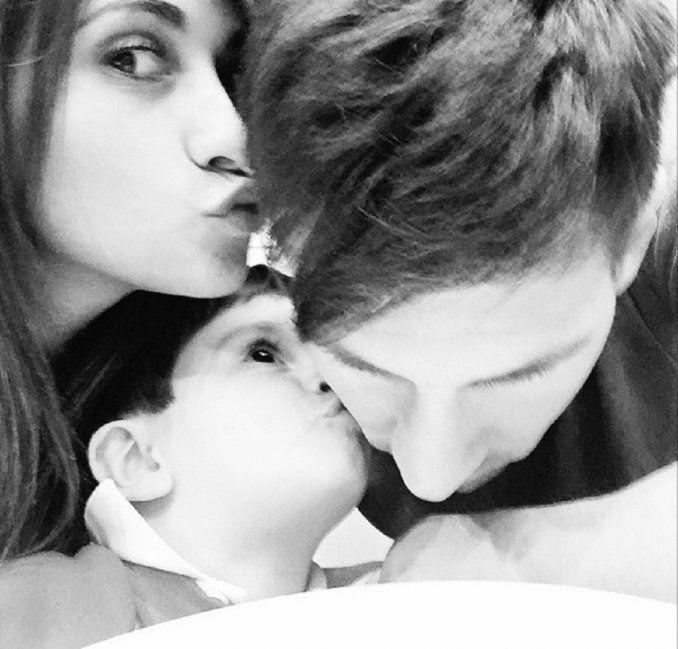 El día del padre de Messi: la especial dedicatoria de Antonella Roccuzzo y su hijo Thiago