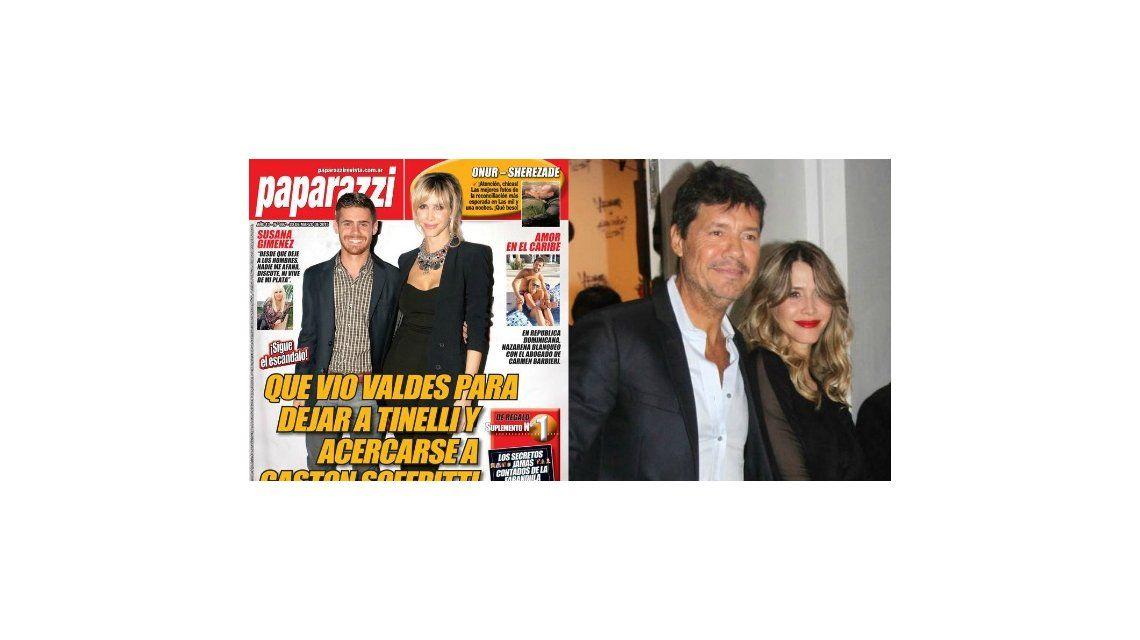 Nuevas versiones de la separación Tinelli-Valdes: aparece Soffritti como tercero en discordia