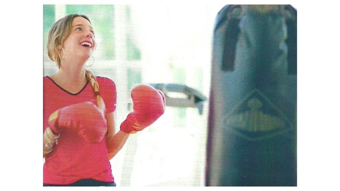 Lucía Celasco practica box: Es una manera increíble de descargar tensiones, dijo la nieta de Susana Giménez