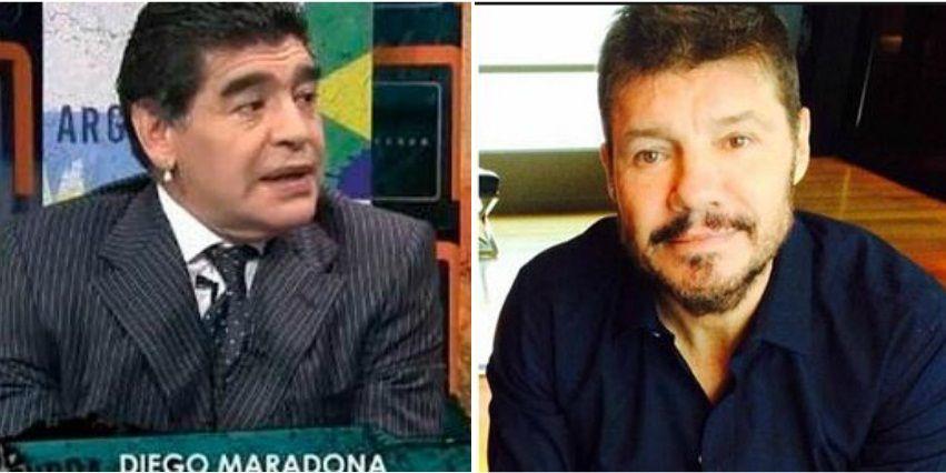 Diego Maradona apuntó contra Marcelo Tinelli quien respondió con ironía en Twitter