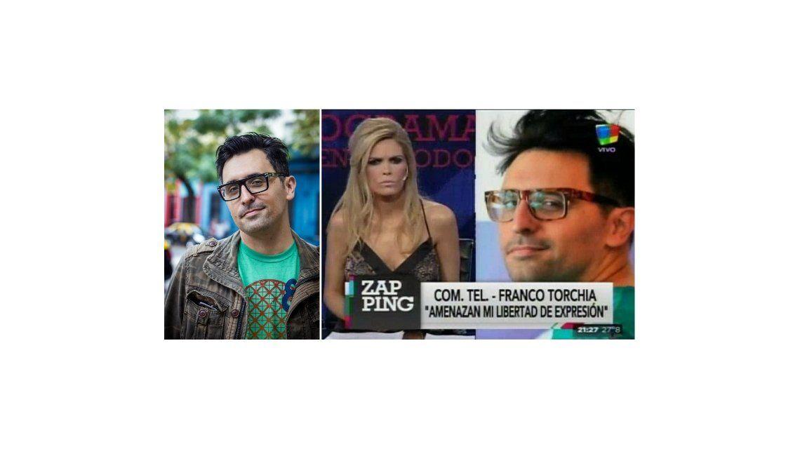 Franco Torchia recibió un mensaje intimidatorio en su casa: Es una amenaza a mi libertad de prensa