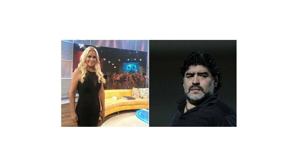 Verónica Ojeda, al Bailando 2015: el fuerte contraataque de Diego Maradona