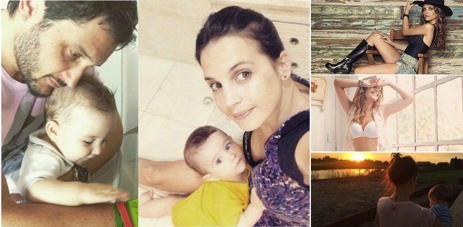 Sabrina Garciarena y Germán Paoloski: papás full time y una mamá sexy